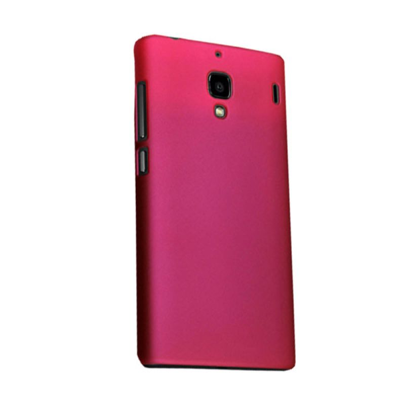 Max Premium Fashion Protective Fit Back Rosy Pink Casing for Xiaomi Redmi 1S