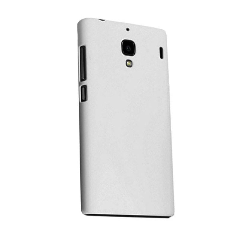 Max Premium Fashion Protective Fit Back Putih Casing for Xiaomi Redmi 1S