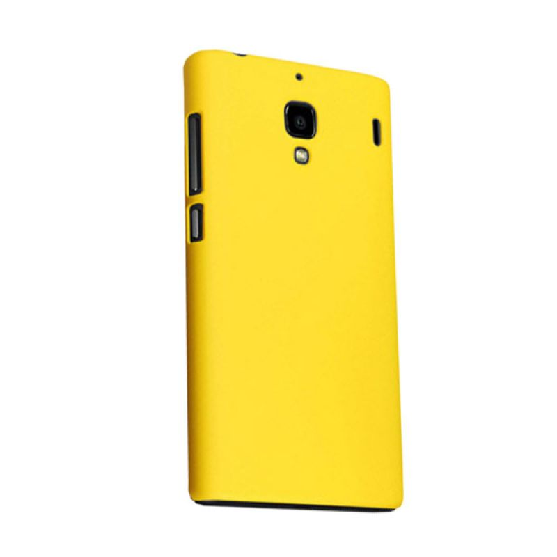 Max Premium Fashion Protective Fit Back Yellow Casing for Xiaomi Redmi 1S