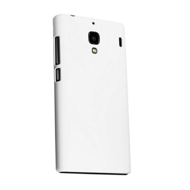 Max Premium Fashion Protective Fit Putih Casing for Xiaomi Redmi 1S