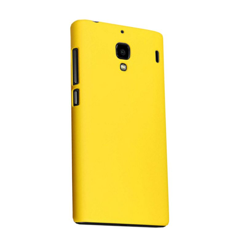 Max Premium Fashion Protective Fit Yellow Casing for Xiaomi Redmi 1S
