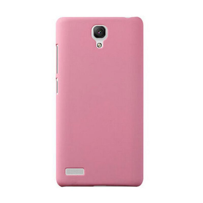 Max Premium Fashion Protective Ultra Back Baby Pink Casing for Xiaomi Redmi Note