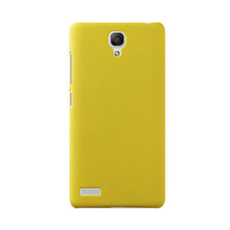Max Premium Fashion Protective Ultra Back Kuning Casing for Xiaomi Redmi Note