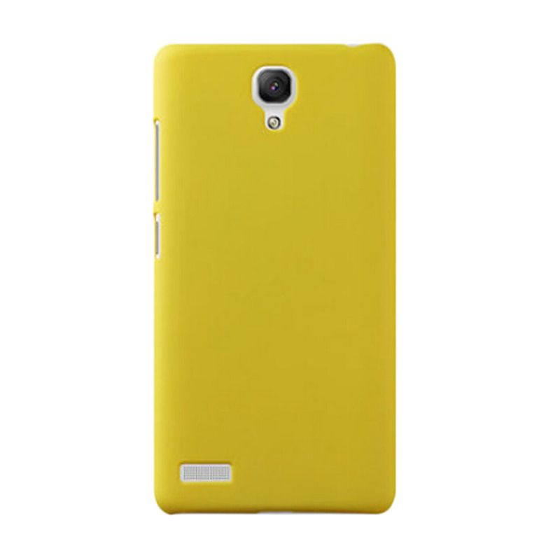 Max Premium Fashion Protective Ultra Kuning Casing for Xiaomi Redmi Note