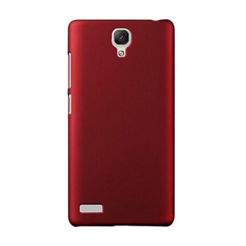 Max Premium Fashion Protective Ultra Merah Casing for Xiaomi Redmi Note