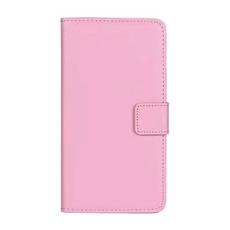 Max Korean Leather Flip Cover Pink Casing for Samsung Galaxy S5