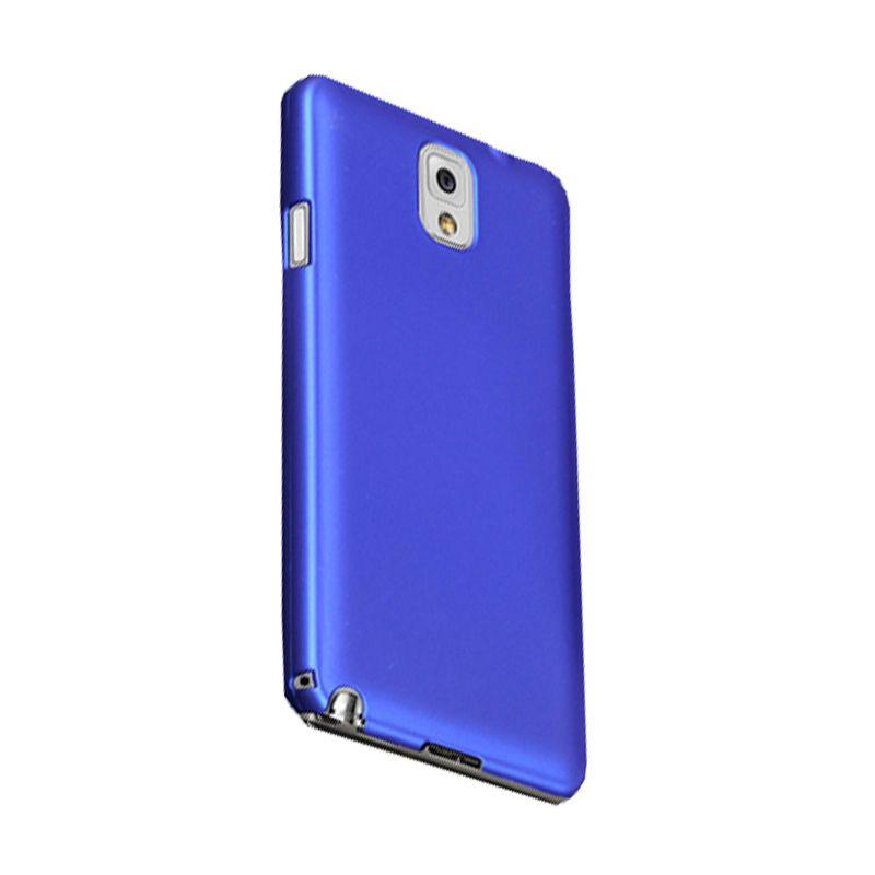Max Premium Stylish Protective Fit Biru Tua Casing for Samsung Galaxy Note 3