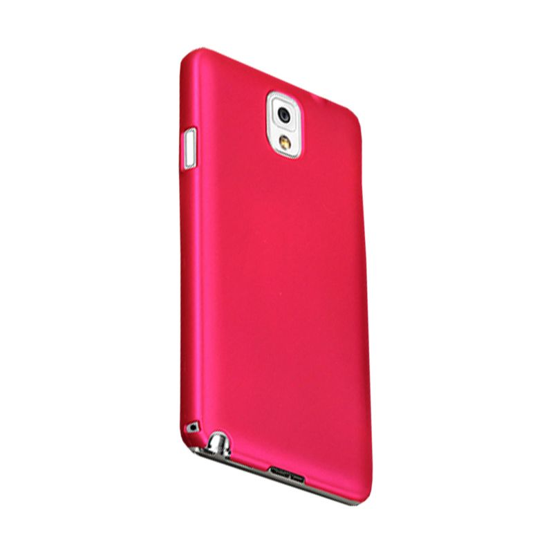 Max Premium Stylish Protective Fit Rosy Pink Casing for Samsung Galaxy Note 3