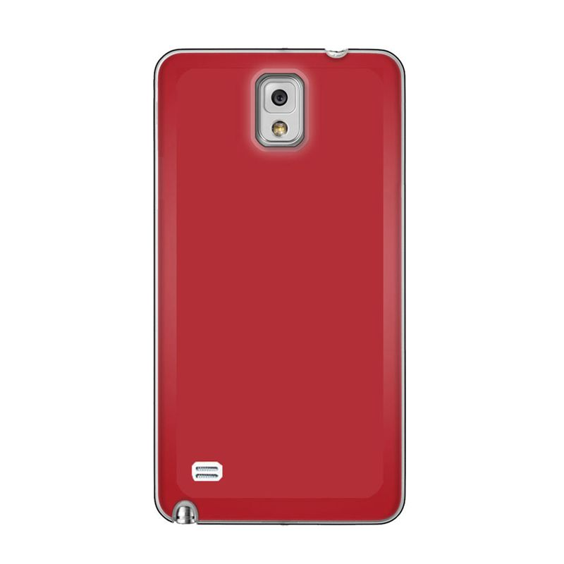 Max Premium Stylish Protective Ultra Back Exclusive Red Casing for Samsung Galaxy Note 4