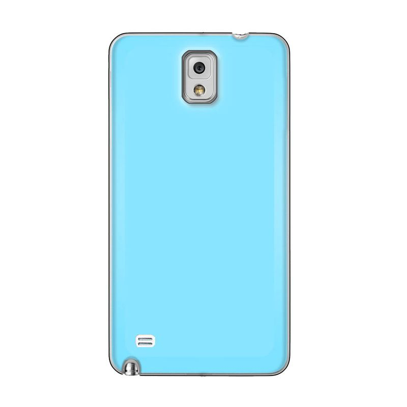 Max Premium Stylish Protective Ultra Baby Blue Casing for Samsung Galaxy Note 4