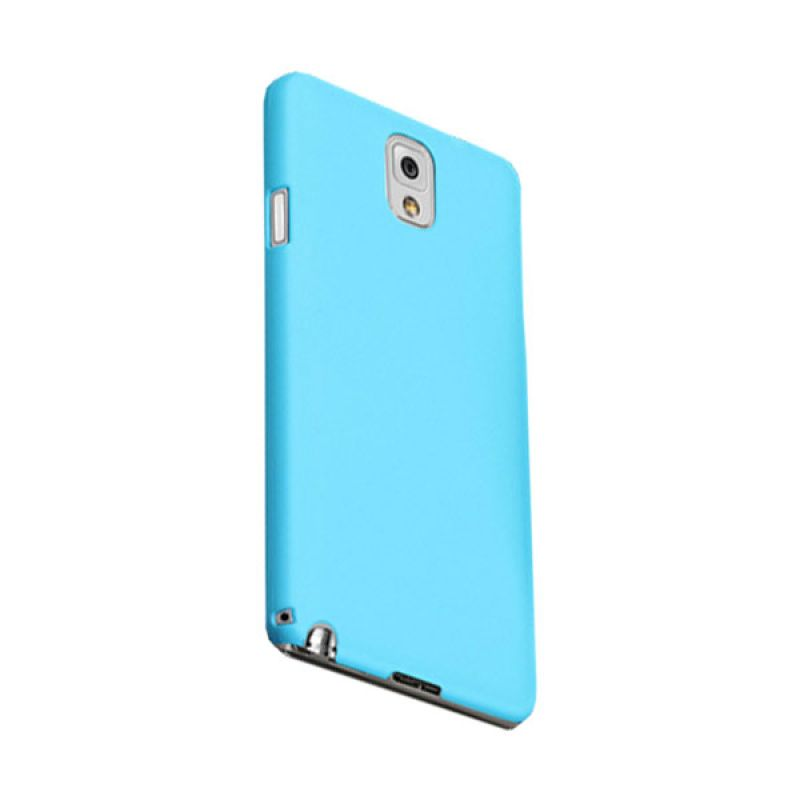 Max Premium Stylish Protective Fit Back Baby Blue Casing for Galaxy Note 3