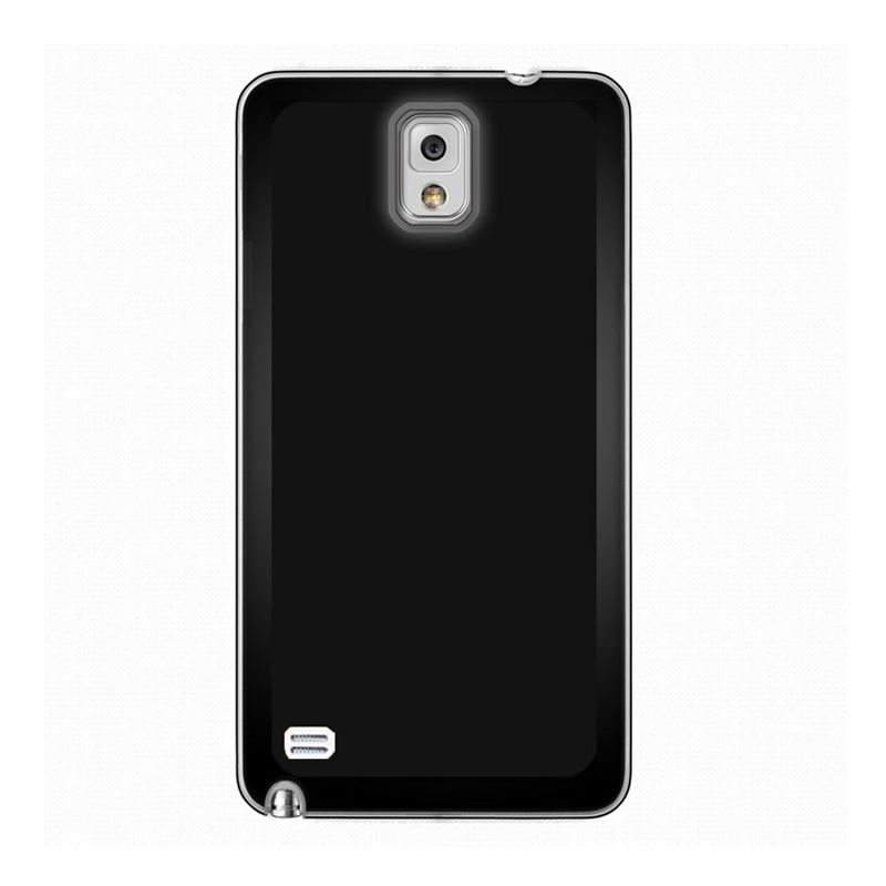 Max Premium Stylish Protective Ultra Back Black Casing for Samsung Galaxy Note 4