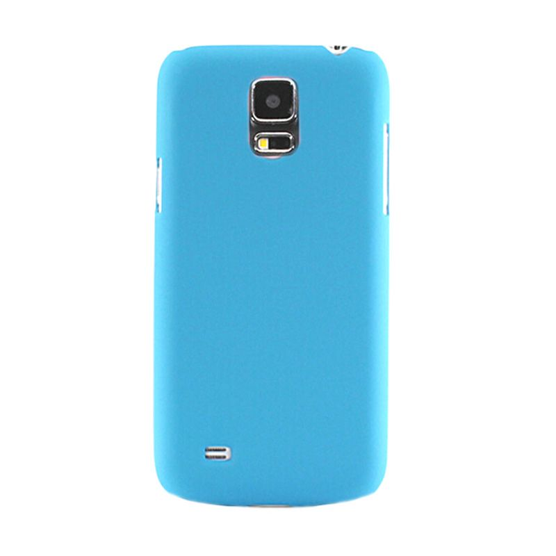 Max Premium Stylish Protective Ultra Back Hardcase Baby Blue Casing for Samsung Galaxy S5