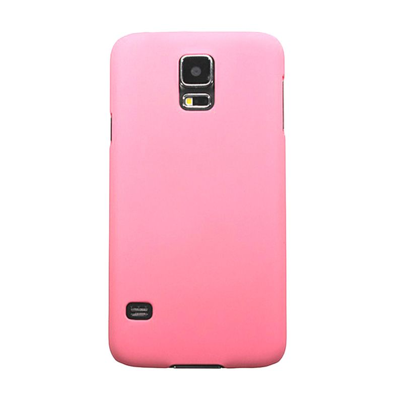 Max Premium Stylish Protective Ultra Back Hardcase Baby Pink Casing for Samsung Galaxy S5