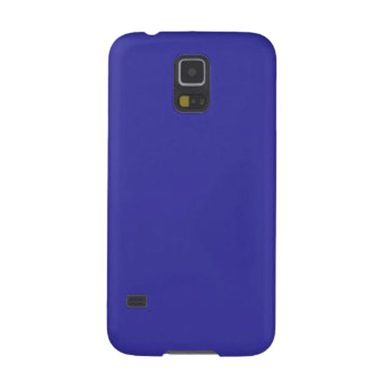 Max Premium Stylish Protective Ultra Back Hardcase Dark Blue Casing for Samsung Galaxy S5