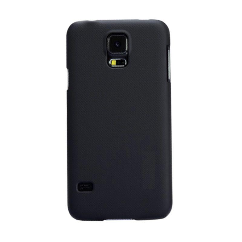 Max Premium Stylish Protective Ultra Back Hardcase Hitam Casing for Samsung Galaxy S5
