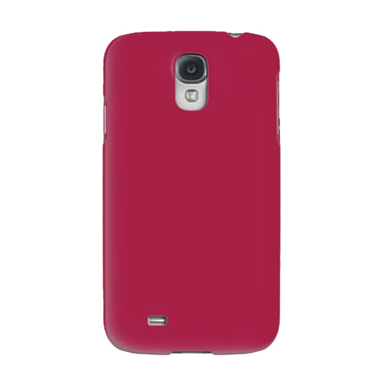 Max Premium Stylish Protective Ultra Back Hardcase Rosy Pink Casing for Samsung Galaxy S4