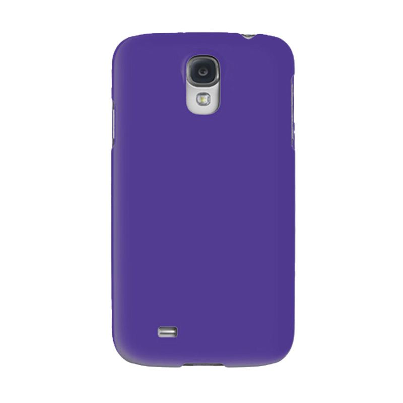 Max Premium Stylish Protective Ultra Back Hardcase Ungu Casing for Samsung Galaxy S4
