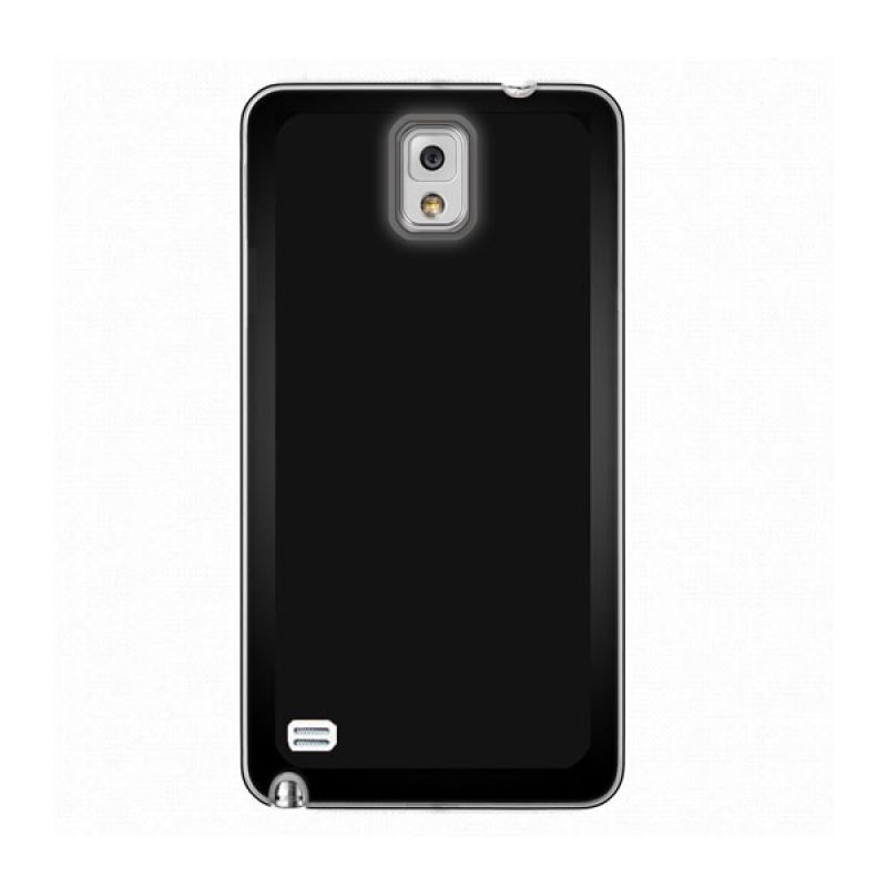 Max Premium Stylish Protective Ultra Back Hitam Casing for Galaxy Note 4