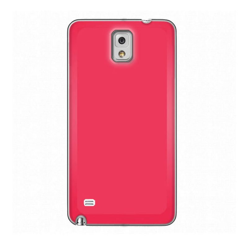 Max Premium Stylish Protective Ultra Back Hot Pink Casing for Galaxy Note 4