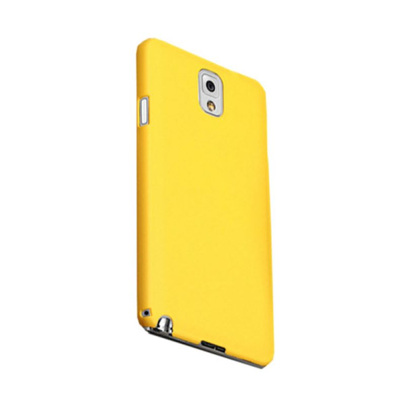 Max Premium Stylish Protective Fit Back Kuning Casing for Galaxy Note 3