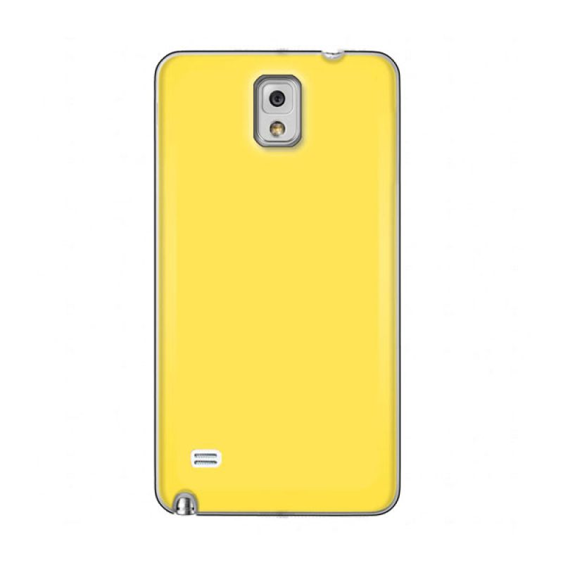 Max Premium Stylish Protective Ultra Back Kuning Casing for Galaxy Note 4