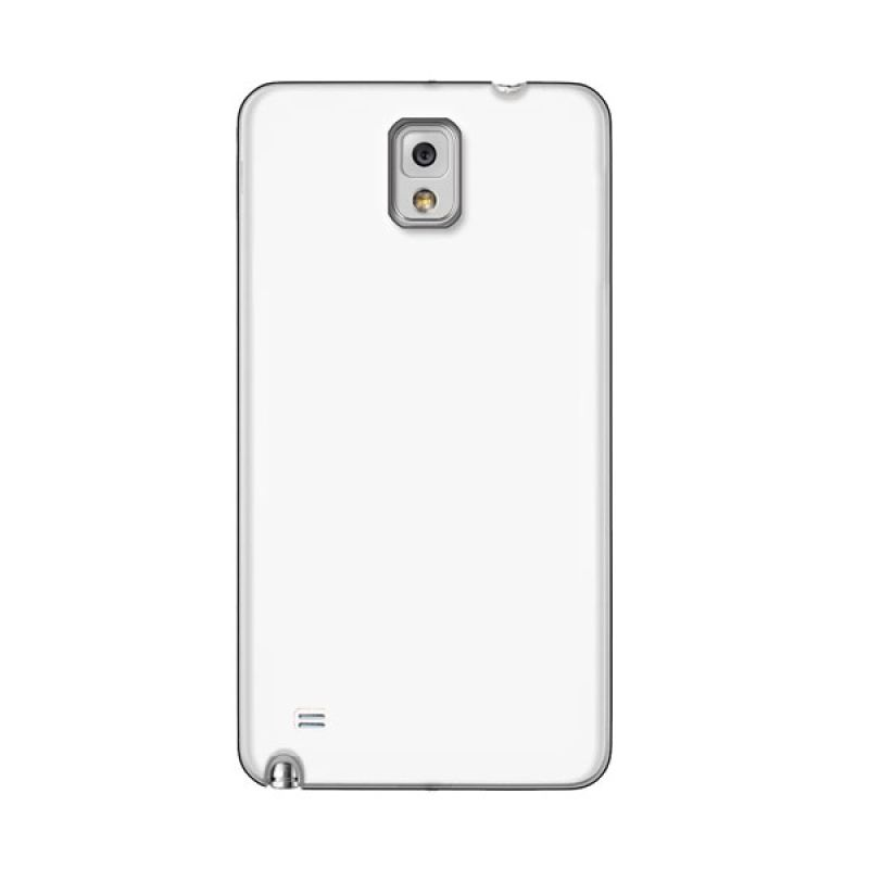 Max Premium Stylish Protective Ultra Back Putih Casing for Galaxy Note 4