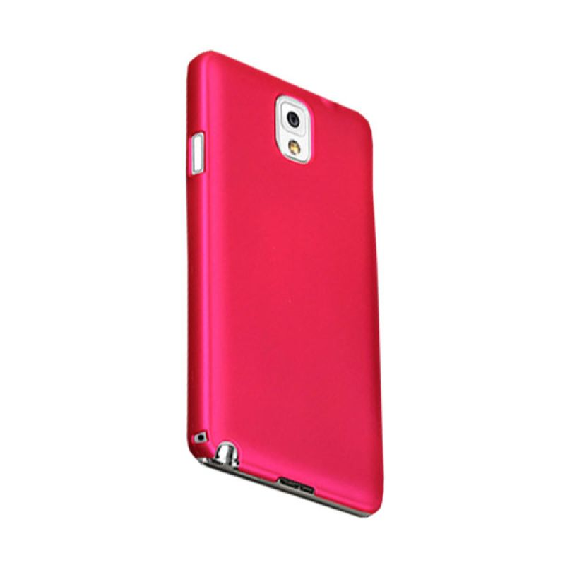 Max Premium Stylish Protective Fit Back Rosy Pink Casing for Galaxy Note 3