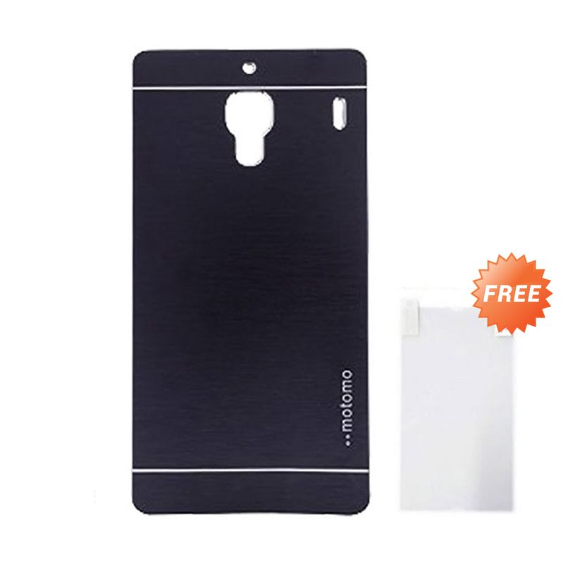 Motomo Navy Casing for Xiaomi Redmi 1S + Screen Guard