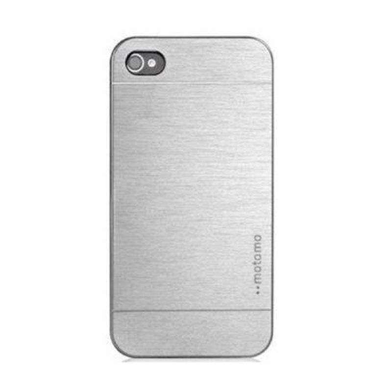 Motomo Silver Casing for Iphone 4S