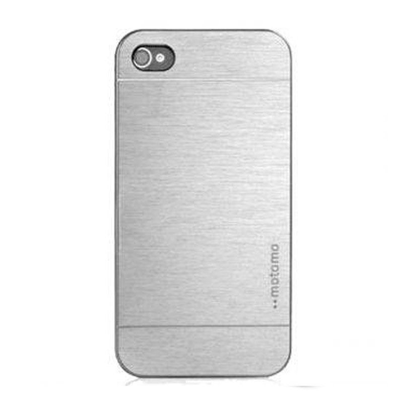 Motomo Silver Casing for Iphone 5S
