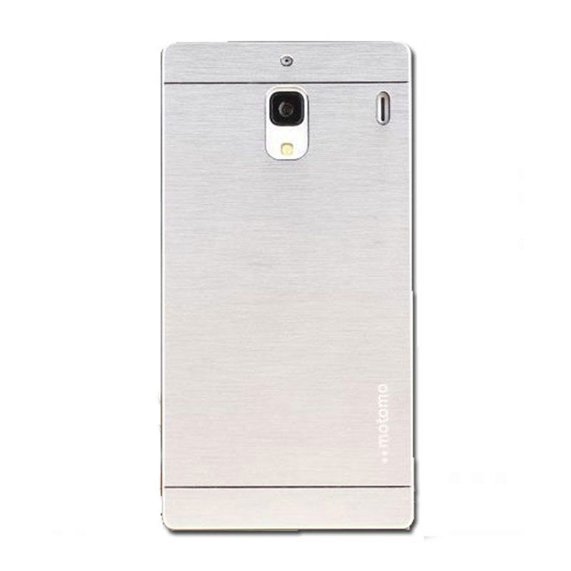 Motomo Silver Casing for Xiaomi Redmi 1S