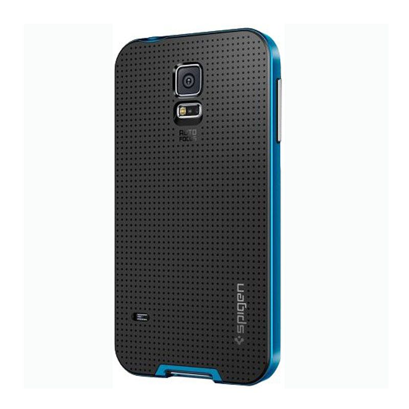 Spigen Neo Hybrid Biru Casing for Samsung Galaxy S5