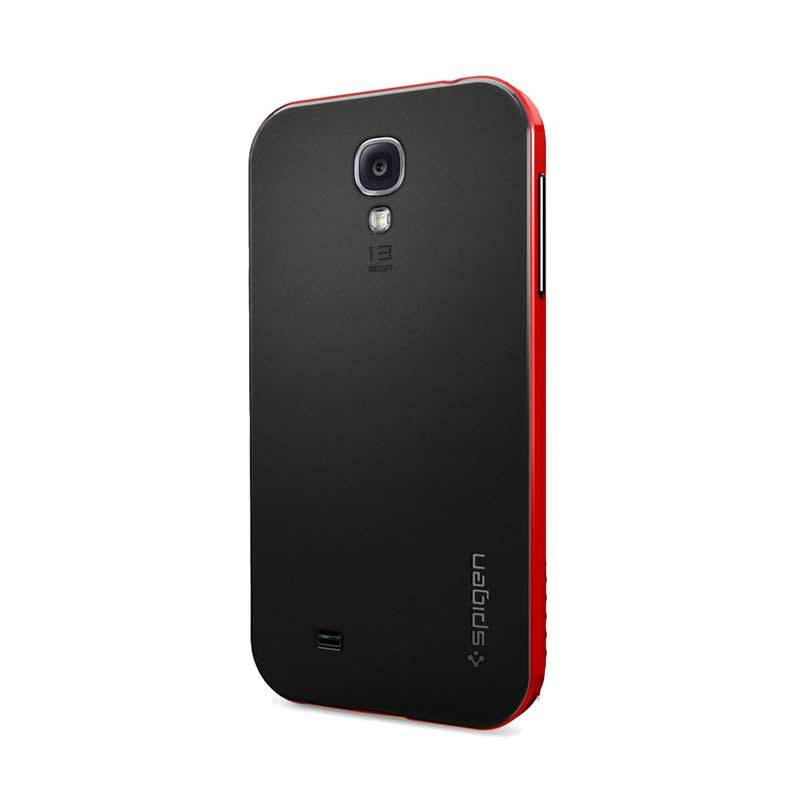 Spigen Neo Hybrid Merah Casing for Galaxy S4