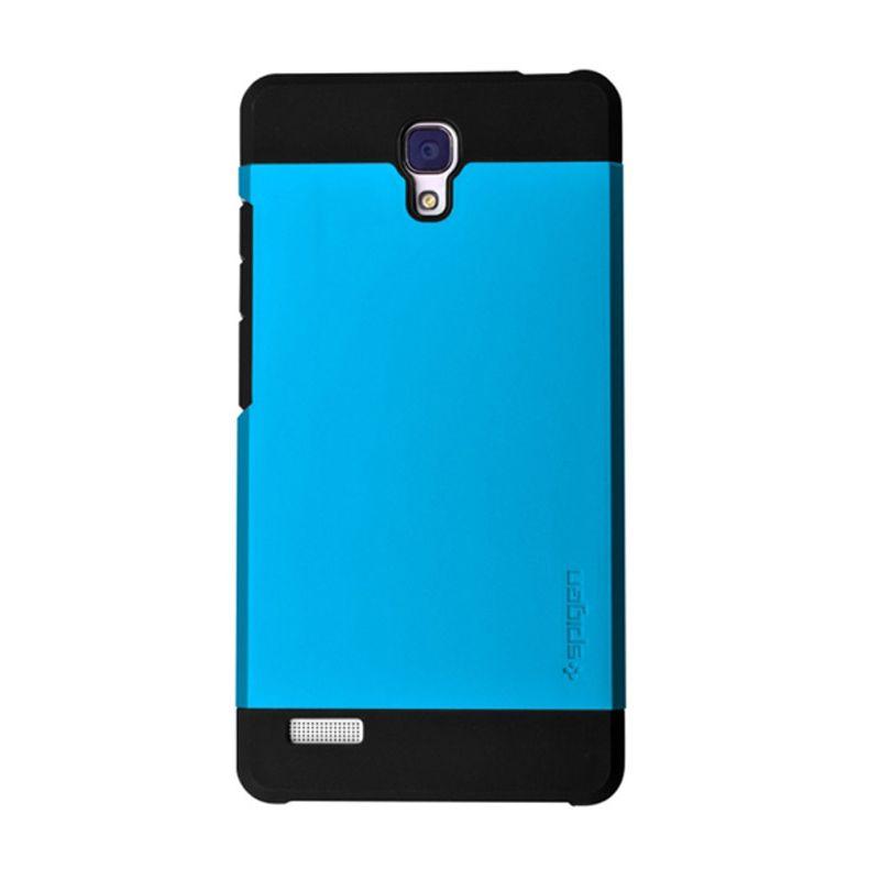 Spigen SGP Slim Armor Blue Casing for Xiaomi Redmi Note