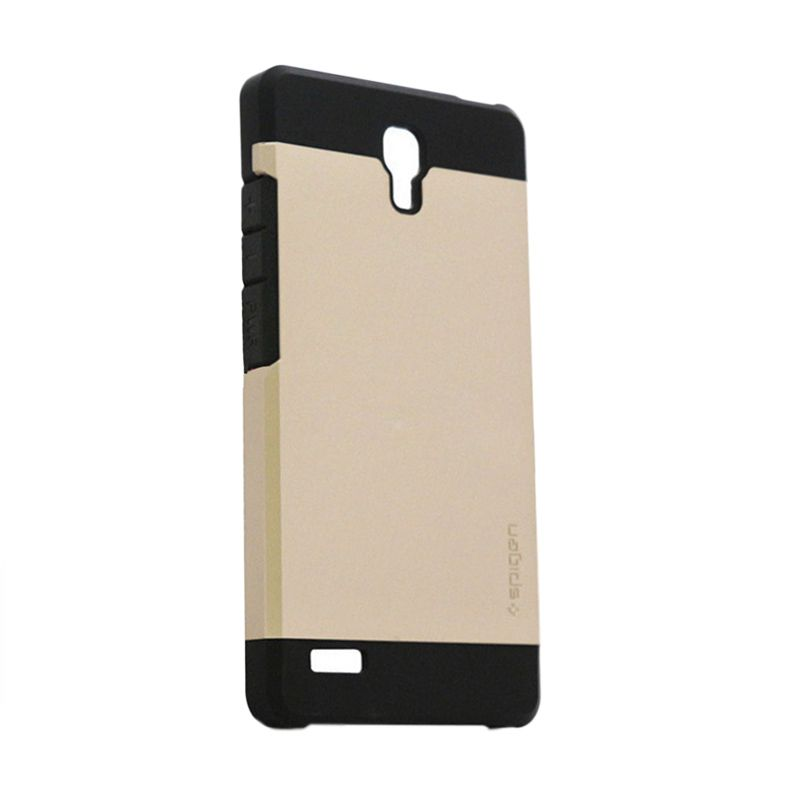 Spigen SGP Slim Armor Gold Casing for Xiaomi Redmi Note