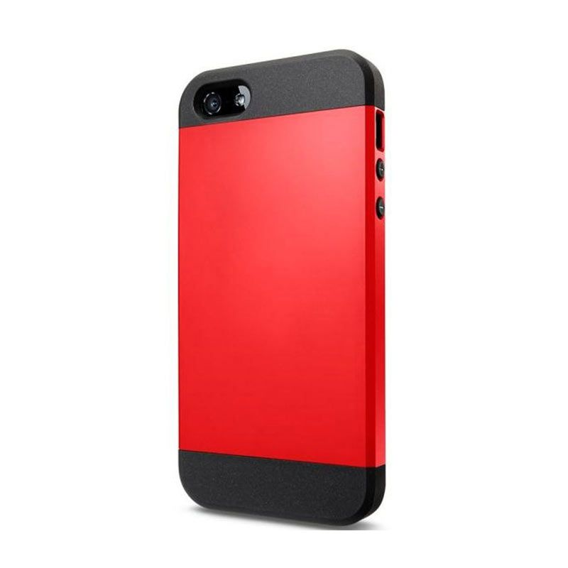 Spigen Slim Armor Red Casing for iPhone 5S