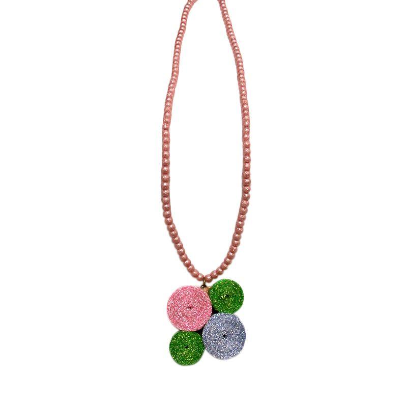 Kinari Lolly Polla Pink 009 Kalung