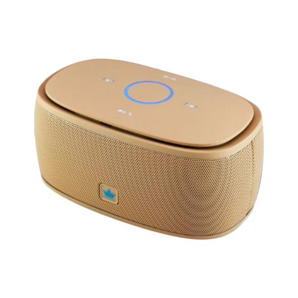 Kingone K5 Speaker Bluetooth with TF Card Slot and Mic - Beige