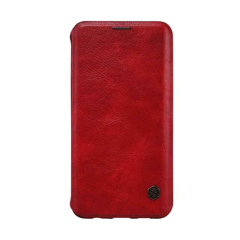 Nillkin Original Qin Leather Red Casing for Samsung Galaxy S6 Edge Plus