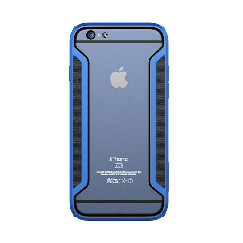 Nillkin Armor Border Series Blue Casing for iPhone 6