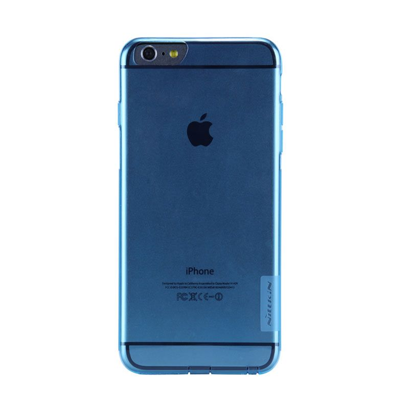 Nillkin Nature Blue Transparan Casing for iPhone 6 Plus