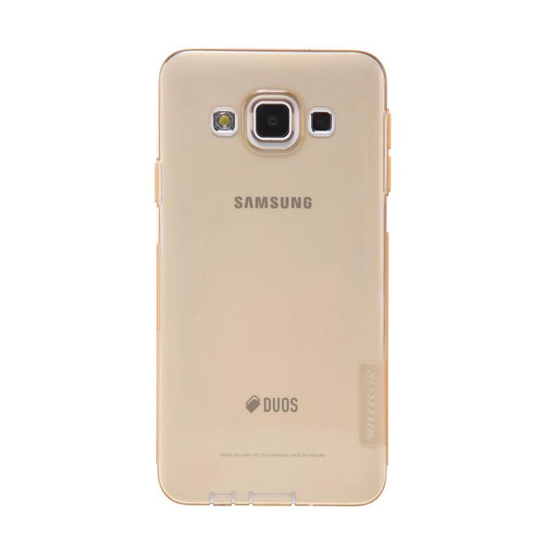 Nillkin Nature TPU Case Coklat Transparan Casing For Samsung Galaxy A3