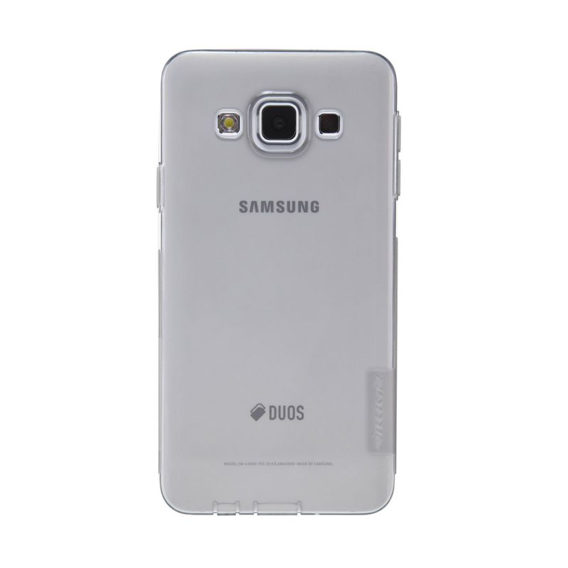 Nillkin Nature TPU Case Grey Transparan Casing For Samsung Galaxy A3