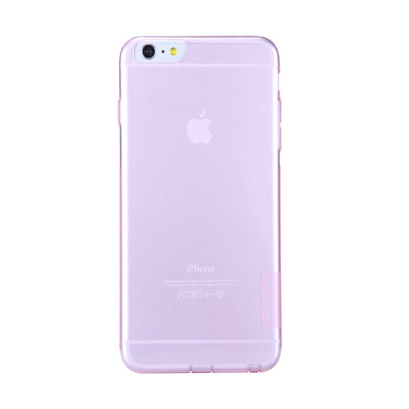 Nillkin Nature Pink Transparan Casing for iPhone 6 Plus
