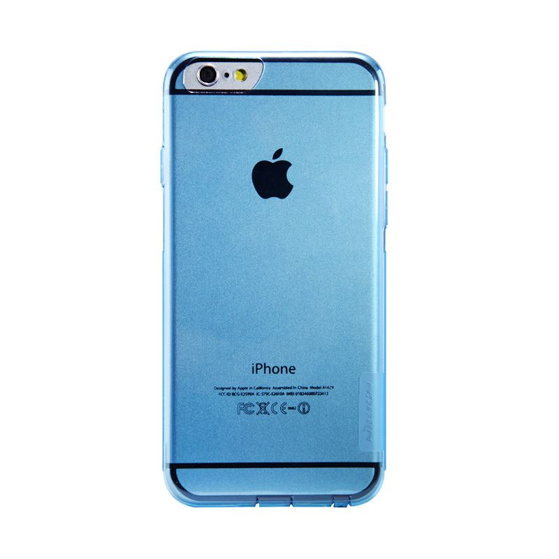 Nillkin Nature Blue Transparan Casing for iPhone 6