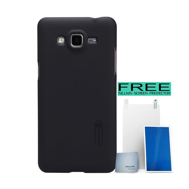 Nillkin Super Frosted Shield Black Hardcase for Samsung Galaxy Grand Prime + Bonus
