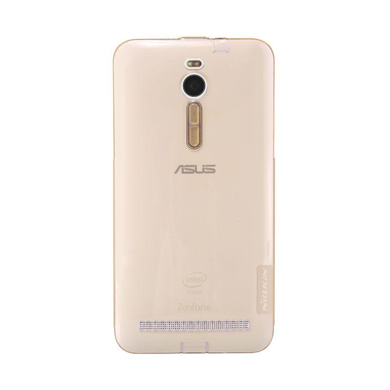 Nillkin Nature TPU Gold Casing for Zenfone 2 ZE550ML or ZE551ML [5.5 inch]
