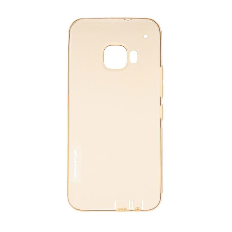 Nillkin Original Nature TPU Gold Transparan Softcase Casing for HTC ONE M9