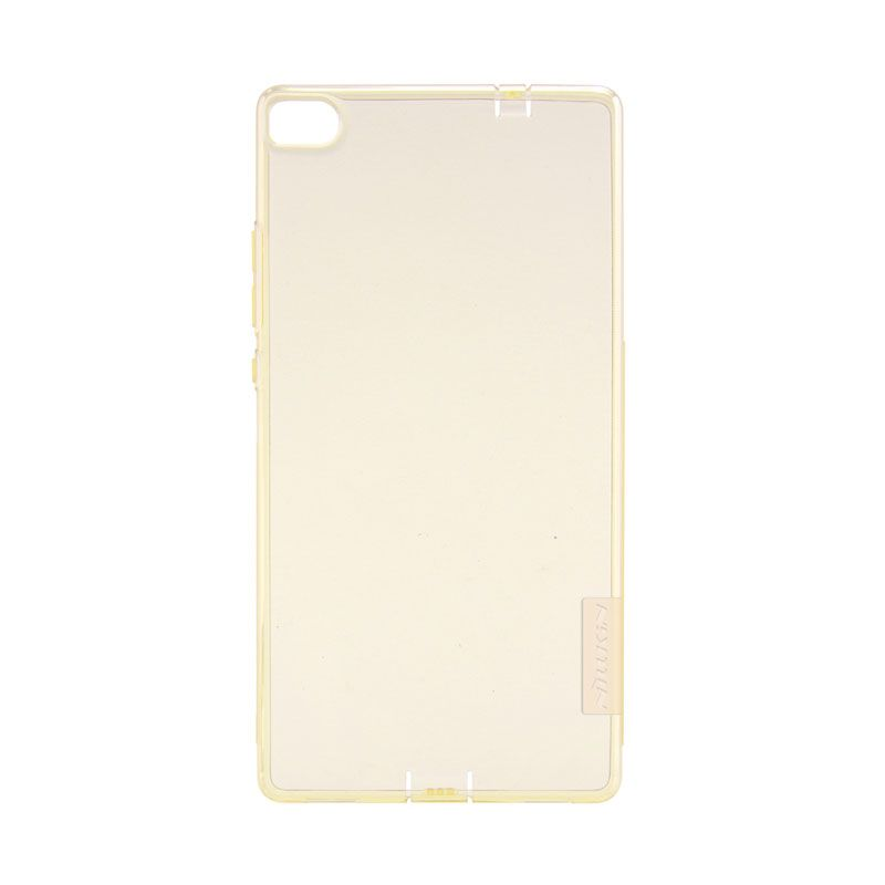 Nillkin Original Nature TPU Gold Transparan Softcase Casing for Huawei Ascend P8